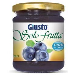GIUSTO SOLO FRUTTA MARMELLATA MIRTILLI 284 G - Farmacia Massaro