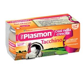 PLASMON OMOGENEIZZATO TACCHINO 80 G X 2 PEZZI - Antica Farmacia Del Lago