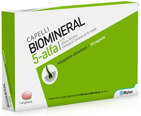 BIOMINERAL 5 ALFA 30 CAPSULE - Farmagolden.it