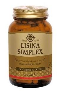 LISINA SIMPLEX 50 CAPSULE VEGETALI - FARMAEMPORIO