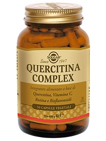 QUERCITINA COMPLEX 50 CAPSULE VEGETALI - Farmapage.it