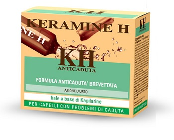 Image of KERAMINE H ANTICADUTA 12 FIALE 6 ML