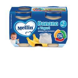 MELLIN MERENDA YOGURT BANANA 2X120 G - Farmafamily.it