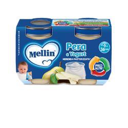 MELLIN MERENDA YOGURT PERA 2X120 G - Parafarmacia Tranchina