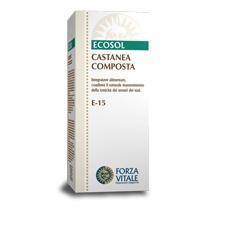 ECOSOL CASTANEA COMPOSTA GOCCE 50 ML - Farmaseller