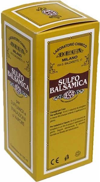 SULFO BALSAMICA SOLUZIONE VIE RESPIRATORIE SUPERIORI 100 ML - farmaciafalquigolfoparadiso.it