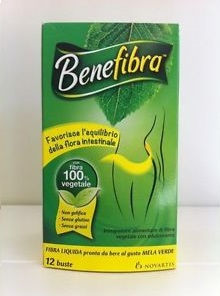BENEFIBRA LIQUIDA 12 BUSTE X 60 ML - Spacefarma.it