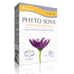 Arkopharma Phyto Soya Integratore Menopausa 60 Capsule 17,5 mg - latuafarmaciaonline.it