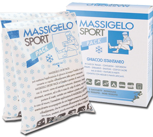 GHIACCIO ISTANTANEO MASSIGELO SPORT PACK 2 BUSTE - Farmaunclick.it