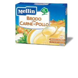 MELLIN BRODO CARNE POLLO 10 BUSTINE X 5 G - Farmajoy