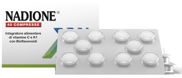 NADIONE 40 COMPRESSE - Farmaseller
