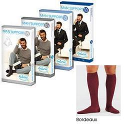 MAN SUPPORT 18 COTONE GAMBALETTO 18 BORDEAUX 4