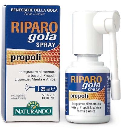 RIPARO GOLA SPRAY 25 ML - Farmaseller