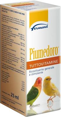 PIUMEDORO TUTTOVITAMINE FLACONE 25 ML - farmaventura.it