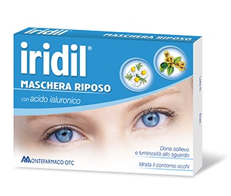 Iridil Maschera Riposo con Acido Ialuronico Monouso - Sempredisponibile.it