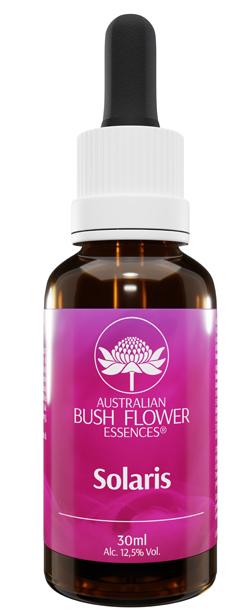 AUSTRALIAN BUSH FLOWER SOLARIS 30ML ESSENZA GOCCE - Nowfarma.it
