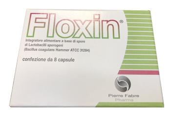 Floxin Integratore Fermenti Lattici 8 Capsule