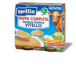 MELLIN PAPPA COMPLETA VITELLO 250 G 2 PEZZI - Carafarmacia.it