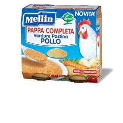 MELLIN PAPPA COMPLETA POLLO 250 G 2 PEZZI - Farmajoy