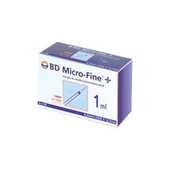SIRINGA PER INSULINA BECTON DICKINSON 1 ML 100 UI AGO 29 GAUGE 30 PEZZI - Farmaciapacini.it