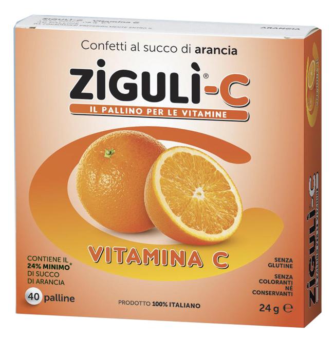 ZIGULI C ARANCIA 40 CONFETTI 24 G - Farmacia Massaro