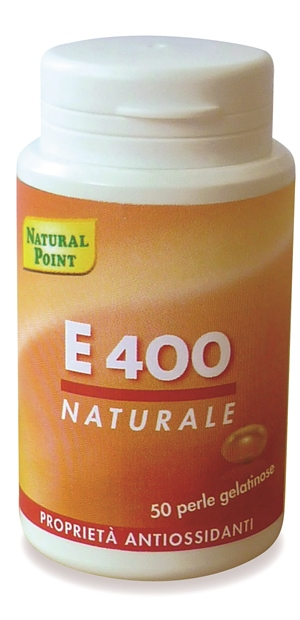 Natural Point E400 Natural Soy Oil Integratore Alimentare 50 Perle - Farmafirst.it