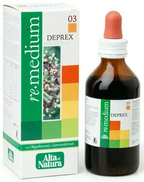 REMEDIUM 03 DEPREX GOCCE 100 ML - Iltuobenessereonline.it