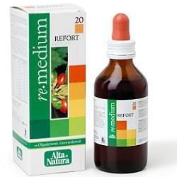 REMEDIUM 20 REFORT GOCCE 100 ML - Iltuobenessereonline.it