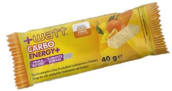 CARBO+ BARRETTA ENERGETICA AGRUMI 40 G - Farmacia Basso