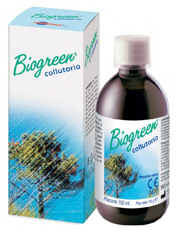COLLUTORIO BIOGREEN 150 ML - Farmacia33