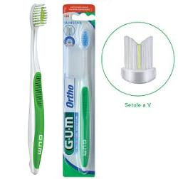Gum Ortho Spazzolino Ortodontico - Sempredisponibile.it