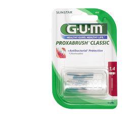Gum Proxabrush 612 Scovolini Protezione Antibatterica 8 Pezzi - Arcafarma.it