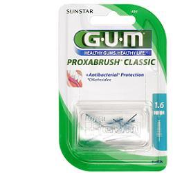 GUM PROXABRUSH CLASSIC 614 SCOVOLINO INTERDENTALE 8 PEZZI - Spacefarma.it