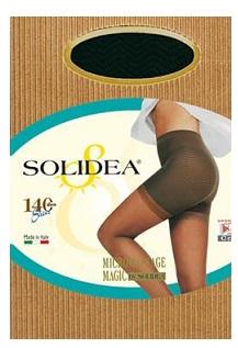 Solidea Magic Sheer 140 DEN Collant Compressivo Anticellulite Colore Nero Taglia 3