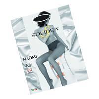 Solidea Naomi 70 DEN Collant Compressivo Modellante Colore Nero Taglia 4XL
