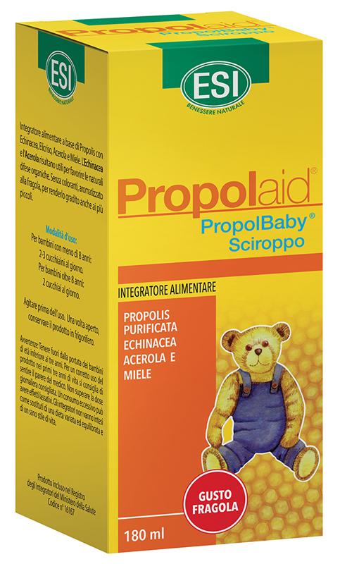 ESI PROPOLAID PROPOLBABY SCIROPPO 180 ML - FarmaHub.it