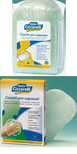 CICCARELLI GUANTO PRESAPONATO 10 PEZZI - Farmaci.me