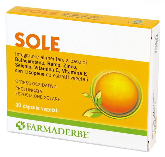 SOLE 30 CAPSULE - Iltuobenessereonline.it