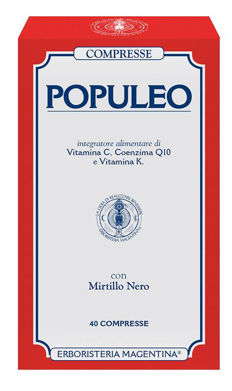 POPULEO COMPRESSE 40CPR prezzi bassi