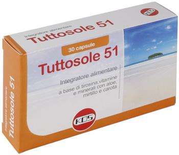 TUTTOSOLE 51 30 CAPSULE - Farmabros.it