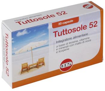 TUTTOSOLE 52 30 CAPSULE - Farmacia Centrale Dr. Monteleone Adriano