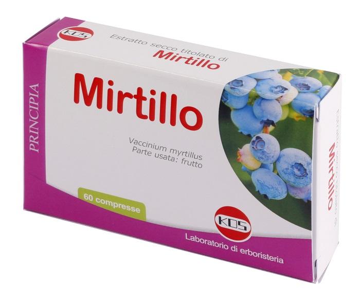 MIRTILLO ESTRATTO SECCO 60 COMPRESSE - Farmastar.it