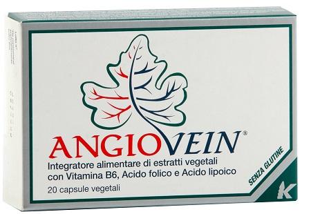 ANGIOVEIN 20 CAPSULE GELATINA - pharmaluna