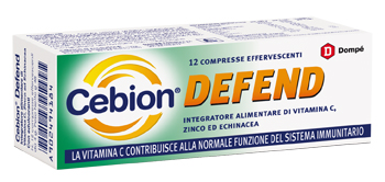 CEBION DEFEND 12 COMPRESSE EFFERVESCENTI - FARMAPRIME