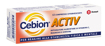 CEBION ACTIVE 12 COMPRESSE EFFERVESCENTI - Farmacia Giotti