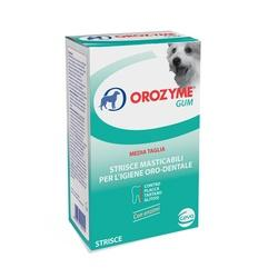 OROZYME GUM CANI MEDIA/PICCOLA TAGLIA STRICE MASTICABILI 141 G - Farmacielo