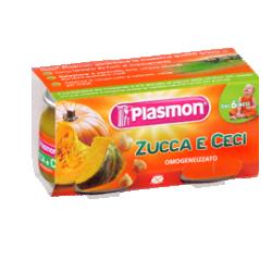 PLASMON OMOGENEIZZATO ZUCCA CECI 2 X 80 G - Farmia.it