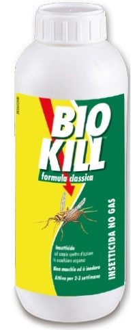 BIOKILL INSETTICIDA NO GAS 1000 ML - Parafarmacia Tranchina