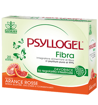 PSYLLOGEL FIBRA ARANCE ROSSE 20 BUSTINE - Spacefarma.it