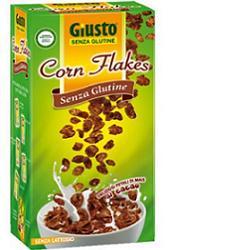 GIUSTO SENZA GLUTINE CORNFLAKES CACAO 250 G - Farmajoy